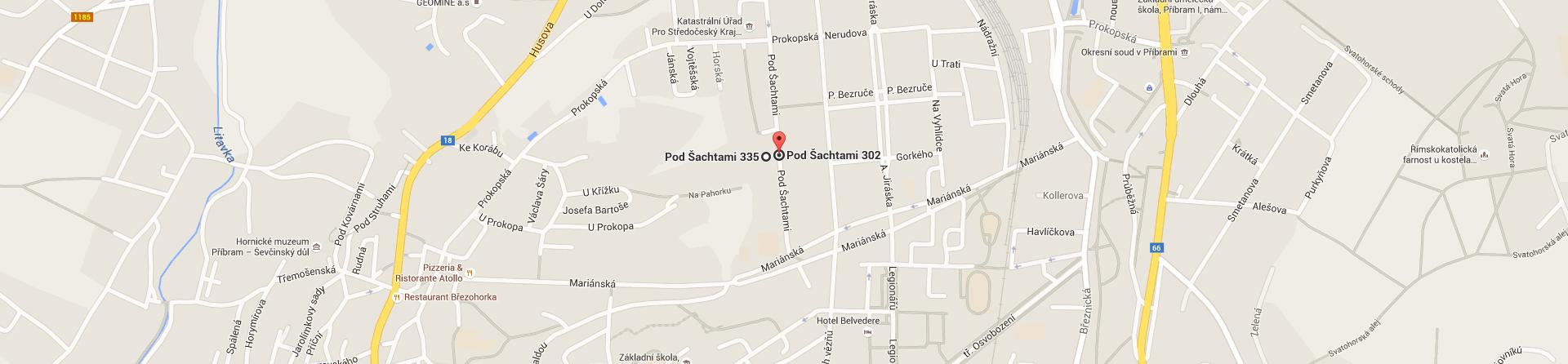 Mapa školy